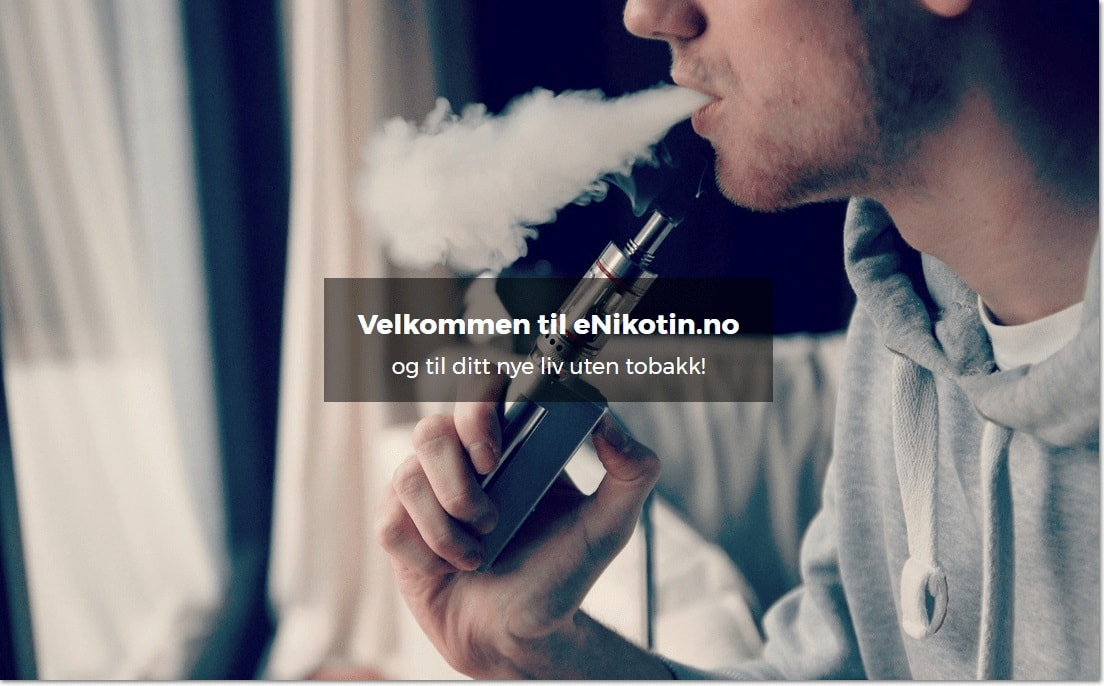 e sigaretter med nikotin damping image