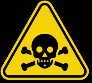 giftig symbol